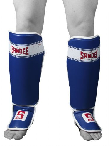 Sandee Sport Shin Guards - Blue